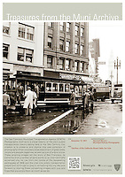 Trial Run of the California Street Cable Line | December 19, 1957 | Treasures from the Muni Archive