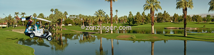Golf Cart, people, moving, Water Hazard humor, funny CGI Backgrounds, ,Beautiful Background
