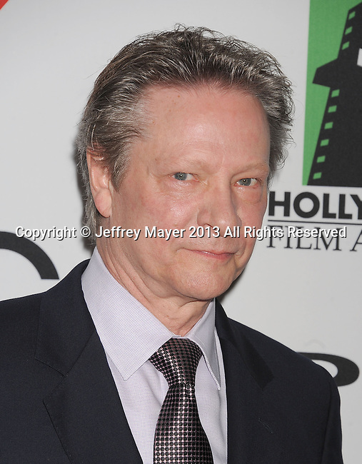 BEVERLY HILLS, CA- OCTOBER 21: Actor Chris Cooper arrives at the 17th Annual Hollywood Film Awards at The Beverly Hilton Hotel on October 21, 2013 in Beverly Hills, California.