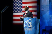 March 14, 2013  (National Harbor, MD)  U.S. Senator Tim Scott (R-SC) addresses to attendees of the 2013 Conservative Political Action Conference (CPAC) at the Gaylord Hotel in National Harbor, MD.  (Photo by Don Baxter/Media Images International)