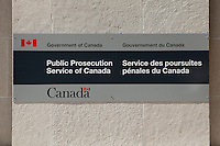 Public Prosecution Service of Canada office is pictured in Ottawa Sunday April 29, 2012.