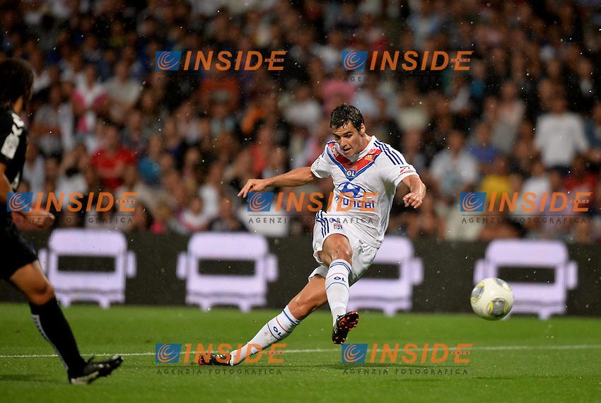 Yoann Gourcuff (lyo) <br /> Football Calcio 2013/2014<br /> Ligue 1 Francia<br /> Foto Panoramic / Insidefoto <br /> ITALY ONLY