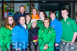 Rowers from Mid Kerry clubs showing their support for World Rowing champion Monika Dukarska Killorglin at her homecoming in Killorglin on Tuesday L-r: Leanne Teahan, Mary B Teahan, Sheila Hurley, Mary Conway, Johanna King alex King. Back row; James O'Sullivan, Martina Moriarty, Mary O'Sullivan, Donna King