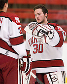 Raphael Girard (Harvard - 30) - The Harvard University Crimson defeated the visiting Brown University Bears 3-2 on Friday, November 2, 2012, at the Bright Hockey Center in Boston, Massachusetts.