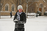 1.31.13 Campus Snowm2149.JPG by Barbara Johnston/University of Notre Dame