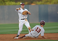 Virginia vs VT baseball. Photo/The Daily Progress/Andrew Shurtleff