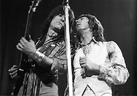 Rod Stewart and Faces (Ronnie Wood/Ian McLagan) 1973  Credit: Ian Dickson/MediaPunch