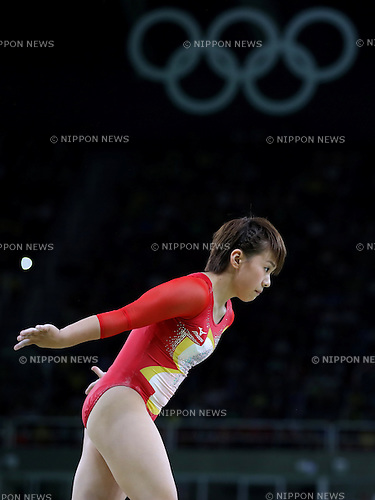 Mai Murakami (JPN), <br /> AUGUST 9, 2016 - Artistic Gymnastics : <br /> Women's Final <br /> Balance Beam  <br /> at Rio Olympic Arena <br /> during the Rio 2016 Olympic Games in Rio de Janeiro, Brazil. <br /> (Photo by Sho Tamura/AFLO SPORT)