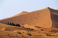 The Great Merzouga Dune, Erg Chebbi, Morocco.