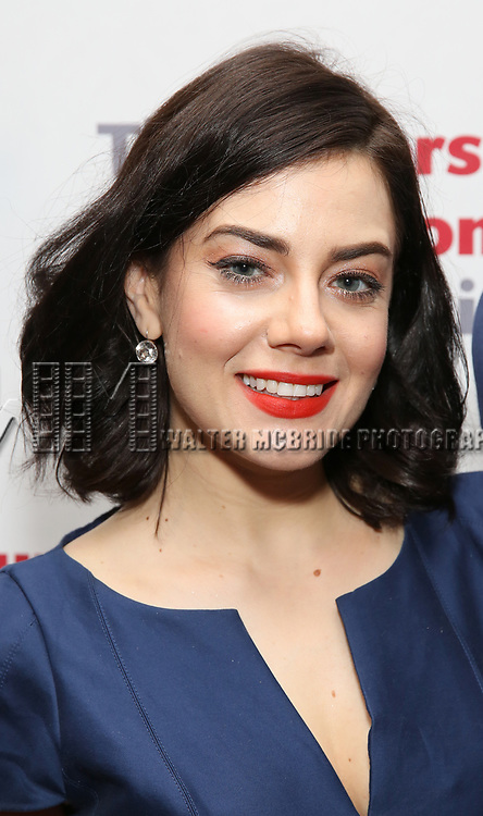 Meghan Picerno attends The Actors Fund Annual Gala at the Marriott Marquis on 5/8//2017 in New York City.