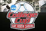 11 December 2009: College Cup logo. The University of Virginia Cavaliers defeated the Wake Forest University Demon Deacons 2-1 after overtime at WakeMed Soccer Stadium in Cary, North Carolina in an NCAA Division I Men's College Cup Semifinal game.