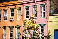 Joan of Arc Statue, French Market, Decatur Street, French Quarter, New Orleans, Louisiana USA