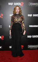 NEW YORK, NY November 15:Christina Hendricks at Broad Green Picture & Miramax's presents New York premiere of BAD SANTA 2 at AMC Loews Lincoln Square in New York City.November 15, 2016. Credit:RW/MediaPunch
