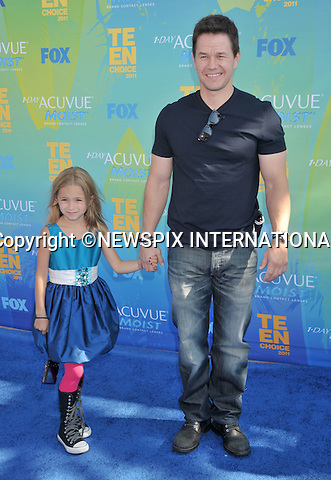 "MARK WAHLBERG.attends the Teen Choice 2011 at the Gibson Amphitheatre, Universal City, California_07/08/2011.Mandatory Photo Credit: ©Crosby/Newspix International. .**ALL FEES PAYABLE TO: ""NEWSPIX INTERNATIONAL""**..PHOTO CREDIT MANDATORY!!: NEWSPIX INTERNATIONAL(Failure to credit will incur a surcharge of 100% of reproduction fees).IMMEDIATE CONFIRMATION OF USAGE REQUIRED:.Newspix International, 31 Chinnery Hill, Bishop's Stortford, ENGLAND CM23 3PS.Tel:+441279 324672  ; Fax: +441279656877.Mobile:  0777568 1153.e-mail: info@newspixinternational.co.uk"