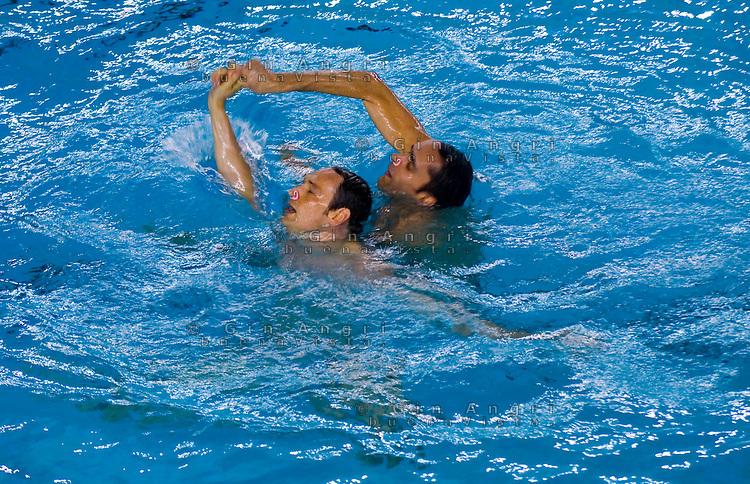 Nuoto sincronizzato maschile gin angri photojournalist for Piscina cozzi milano