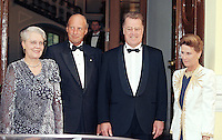 King Harald, and Queen Sonja of Norway, State Visit to Latvia, attend a concert in Riga, and a Dinner at Rga Palace with The President, and his wife