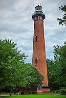Outer Banks, NC<br /> Currituck Beach Lighthouse (1875) near Corolla, NC