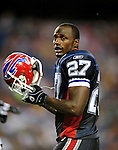 3 September 2009:  Buffalo Bills' cornerback Reggie Corner watches from the sidelines during a pre-season game against the Detroit Lions at Ralph Wilson Stadium in Orchard Park, New York. The Lions defeated the Bills 17-6...Mandatory Photo Credit: Ed Wolfstein Photo