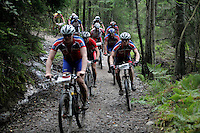 Grenserittet is a 80km mountain bike race starting in the Swedish town of Strömstad, ending up in the Norwegian town Halden. The interest for these kind of bike races has exploded in Norway the last few years, particularly with middle age affluent men.
