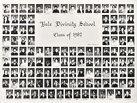 1982 Yale Divinity School Senior Portrait Class Group Photograph