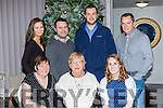 Staff from Fexco Killorglin enjoying their Christmas party in the Malton Hotel on Friday night Mary Kissane, Josie McAulliffe, Natalie Breen. Back row: Fiona Lynch, Karl Kissane, Michael O'Connor and Niall McGann