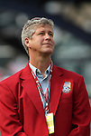 04 June 2011: 2011 National Soccer Hall of Fame Inductee Bruce Murray was honored before the game. The Spain Men's National Team defeated the United States Men's National Team 4-0 at Gillette Stadium in Foxborough, Massachusetts in an international friendly soccer match.