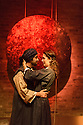 London, UK. 15.09.2016. Theatre Accord, in association with Tara Arts, presents PARADISE OF THE ASSASSINS, based on a novel by Abdul Halim Sharar, adapted and directed by Anthony Clark. Design is by Matilde Marangoni. This production marks the opening of the new Tara Theatre. Picture shows:  Asif Khan (Hussain), Skye Hallam (Zamurrud). © Jane Hobson.
