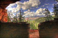 A Ruin with a View - Sedona, Arizona. Ancient Sinaqua ruin