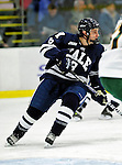 30 November 2009: Yale University Bulldogs' forward Josh Balch, a Freshman from Wilmette, IL, in action against the University of Vermont Catamounts at Gutterson Fieldhouse in Burlington, Vermont. The Bulldogs fell to the Catamounts 1-0 in a close rematch of last season's first round of the NCAA post-season playoff Tournament. Mandatory Credit: Ed Wolfstein Photo