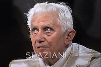 Corpus Domini Benedict XVI procession basilicas San Giovanni in Rome.June 23, 2011
