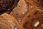 Basilica della Madonna di Tirano church interior and the 17th century organ; the church is dedicated to the appearance of the Virgn to Mario Degli Omodei in 1504 and located in Tirano, Italy