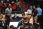 Ole Miss' Terrance Henry (1) at the C.M. &quot;Tad&quot; Smith Coliseum in Oxford, Miss. on Wednesday, January 18, 2012. (AP Photo/Oxford Eagle, Bruce Newman).