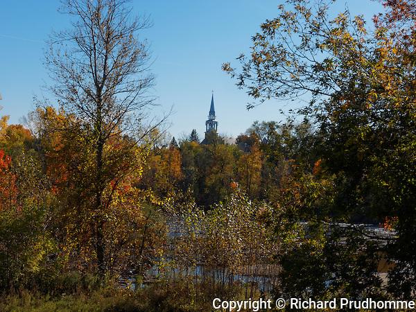 Riverside in Saint-Liguori, Quebec