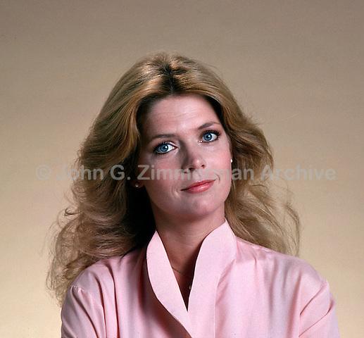 Actress Meredith Baxter Birney. Studio Shoot, Los Angeles, California, September 1978. Photo by John G. Zimmerman