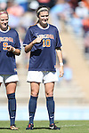 20 October 2013: Virginia's Annie Steinlage. The University of North Carolina Tar Heels hosted the University of Virginia Cavaliers at Fetzer Field in Chapel Hill, NC in a 2013 NCAA Division I Women's Soccer match. Virginia won the game 2-0.