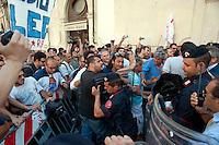 Manifestazione per  spazzatura a Napoli