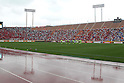 General view, April 23rd, 2011 - Football : 2011 J.LEAGUE Division 1, 7th Sec match between Kashima Antlers 0-3 Yokohama Marinos at National Stadium, Tokyo, Japan. The J.League resumed on Saturday 23rd April after a six week enforced break following the March 11th Tohoku Earthquake and Tsunami. All games kicked off in the daytime in order to save electricity and title favourites Kashima Antlers are still unable to use their home stadium which was damaged by the quake. Velgata Sendai, from Miyagi, which was hard hit by the tsunami came from behind for an emotional 2-1 victory away to Kawasaki. (Photo by Akihiro Sugimoto/AFLO SPORT) [1080]