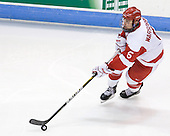 David Warsofsky (BU - 5) - The Boston University Terriers defeated the visiting University of Toronto Varsity Blues 9-3 on Saturday, October 2, 2010, at Agganis Arena in Boston, MA.