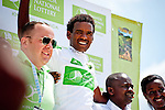 Getachew Atsbha (National Team Ethiopia), the best young rider