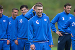 St Johnstone Training&hellip;22.07.16<br />David Wotherspoon pictured during training this morning at McDiarmid Park ahead of tomorrows Betfred Cup game against Falkirk.<br />Picture by Graeme Hart.<br />Copyright Perthshire Picture Agency<br />Tel: 01738 623350  Mobile: 07990 594431