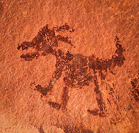 Big Horn Sheep Pictograph - Sedona, Arizona