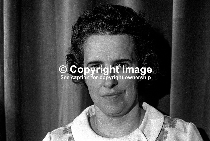 Mrs Eileen Paisley, candidate, DUPLC, East Belfast, N Ireland Assembly Election, 197306000418..Copyright Image from Victor Patterson, 54 Dorchester Park, Belfast, UK, BT9 6RJ..Tel: +44 28 9066 1296.Mob: +44 7802 353836.Voicemail +44 20 8816 7153.Skype: victorpattersonbelfast.Email: victorpatterson@mac.com.Email: victorpatterson@ireland.com (back-up)..IMPORTANT: If you wish to use this image or any other of my images please go to www.victorpatterson.com and click on the Terms & Conditions. Then contact me by email or phone with the reference number(s) of the image(s) concerned.