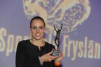 SPORT: HEERENVEEN: Trinitas, 30-01-2013, Sportgala Fryslân, Marit Bouwmeester (sportvrouw), ©foto Martin de Jong