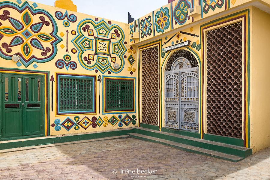 Palace of the emir of Zazzau in Zaria, Nigeria.