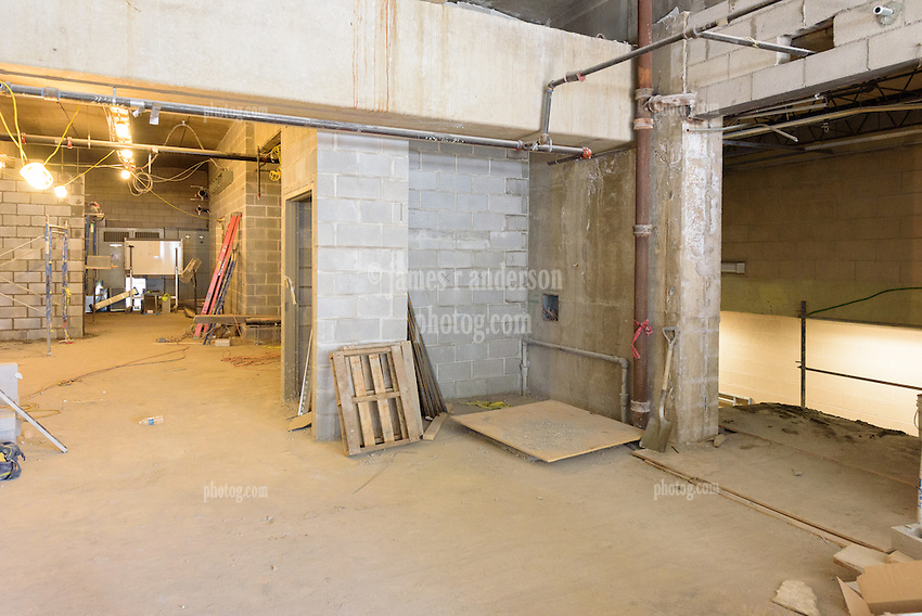 Central High School Bridgeport CT Expansion & Renovate as New. State of CT Project # 015-0174. One of 82 Photographs of Progress Submission 18, 28 July 2016