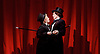 Tipping The Velvet <br /> by Sarah Waters <br /> adopted by Laura Wade <br /> at the Lyric Hammersmith, London, Great Britain <br /> press photocall <br /> 25th September 2015 <br /> <br /> Sally Messham as Nancy <br /> <br /> Laura Rogers as Kitty <br /> <br /> <br /> Photograph by Elliott Franks <br /> Image licensed to Elliott Franks Photography Services