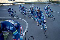 Antoine Demoiti&eacute; (BEL/Wanty-Groupe Gobert) &amp; team climbing<br /> <br /> Pre-season Training Camp january 2016