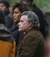 NEW YORK, NY-October 26: Jennifer Lopez, Ray Liotta shooting on location for new season of Shades of Blue in New York.October 26, 2016. Credit:RW/MediaPunch