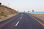 Route 90 at Ein Bokek & The Dead Sea