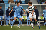 11 December 2011: UNCC's Klay Davis (11) and North Carolina's Matt Hedges (6). The University of North Carolina Tar Heels defeated the University of North Carolina Charlotte 49ers 1-0 at Regions Park in Hoover, Alabama in the NCAA Division I Men's Soccer College Cup Final.